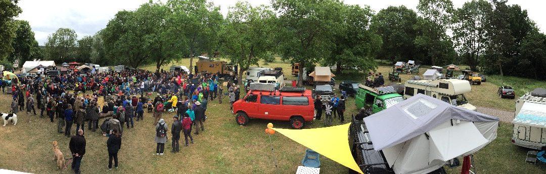 Bewegendes Camper Nomads Meetup auf dem Dachzelt Festival 2018