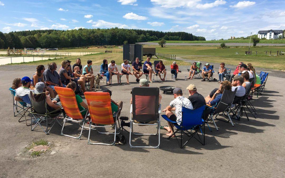 Camper Nomads Meetup mit Freiheitsmobilisten