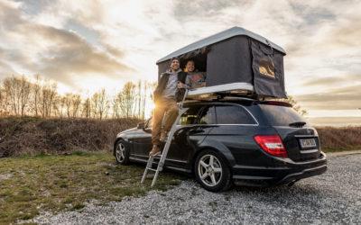 Tina und Tobi: Als Paar unterwegs im Dachzelt