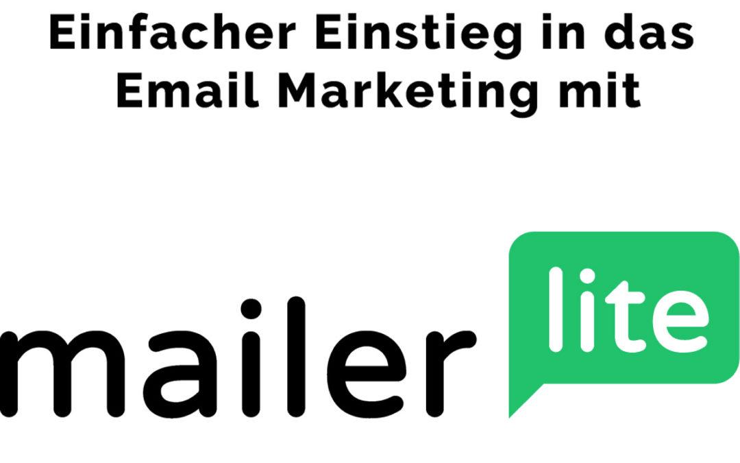 Email Marketing Software für den Einstieg