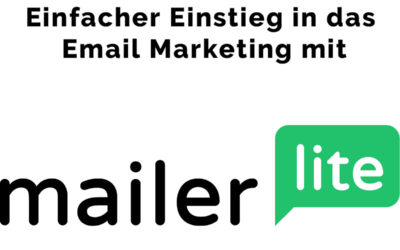 Email Marketing Software für den Einstieg