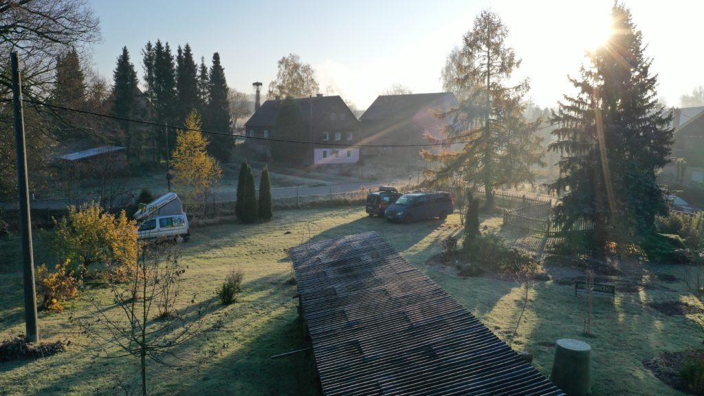 Polenztal am Morgen
