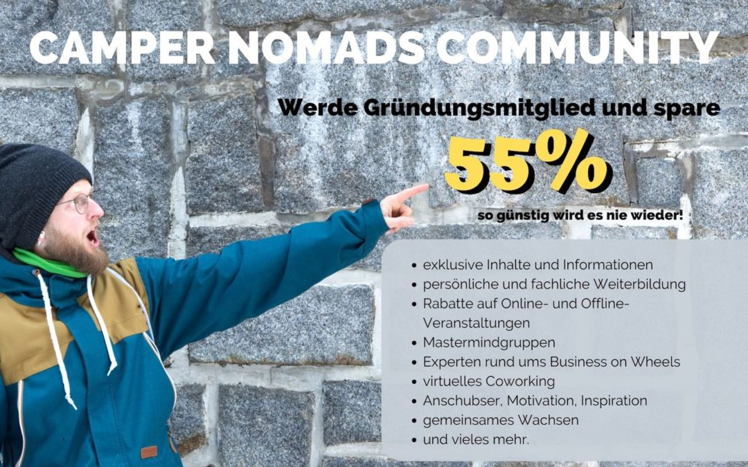 Zugang CAMPER NOMADS COMMUNITY