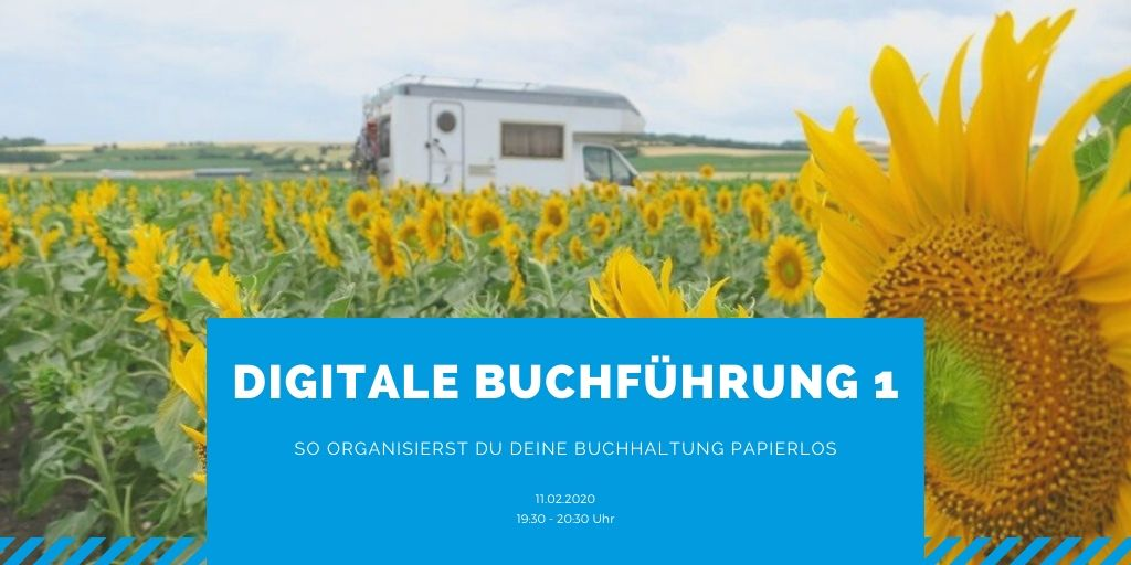 Webinar: Digitale Buchführung – Teil 1