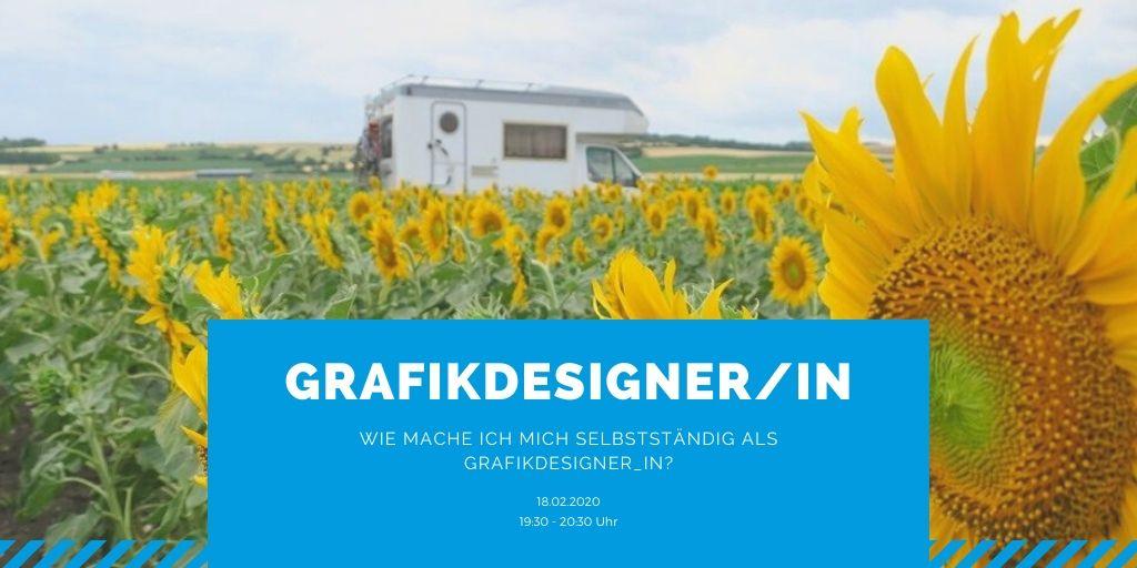 Webinar: Wie mache ich mich selbstständig als GRAFIKDESIGNER_IN?