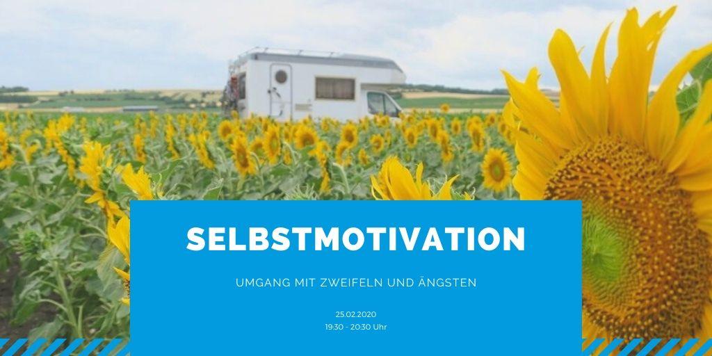 Webinar: Selbstmotivation, Umgang mit Zweifeln und Ängsten