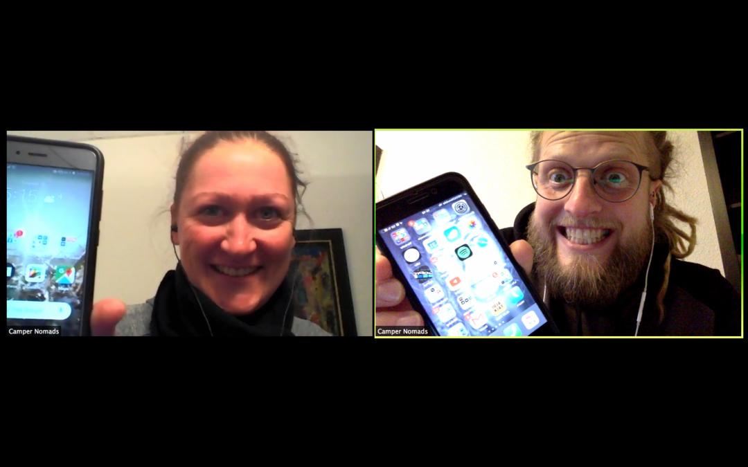 Unsere wichtigsten Apps für Camper Nomads – Diese Apps nutzen wir auf unseren Smartphones