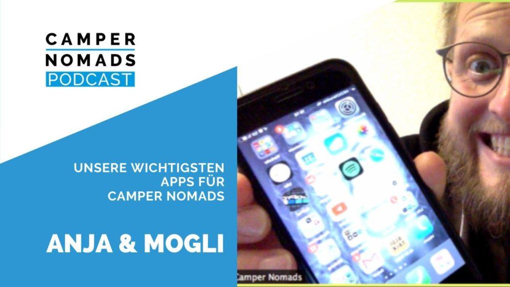 Apps für Camper Nomads