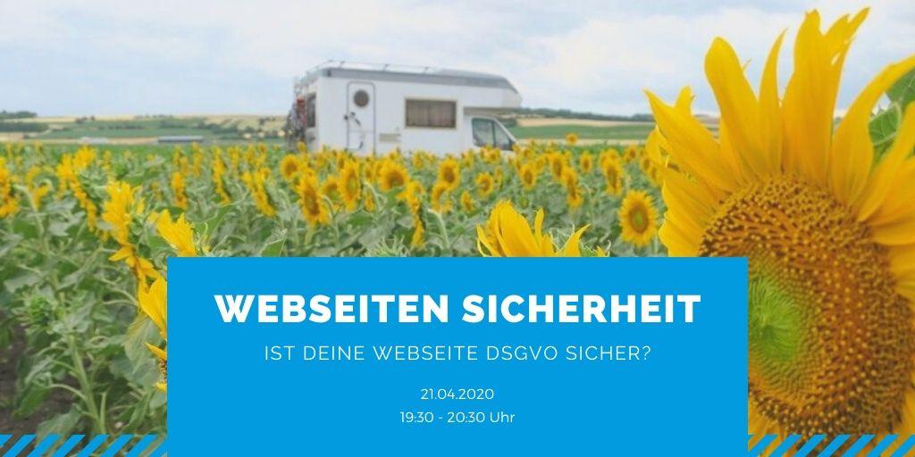 Webinar: Ist deine Website DSGVO-sicher?