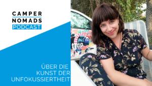 Texterin und Autorin Nadine über die Kunst der Unfokussiertheit