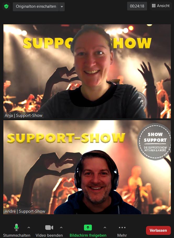 Support-Show: Business(idee) gescheitert?