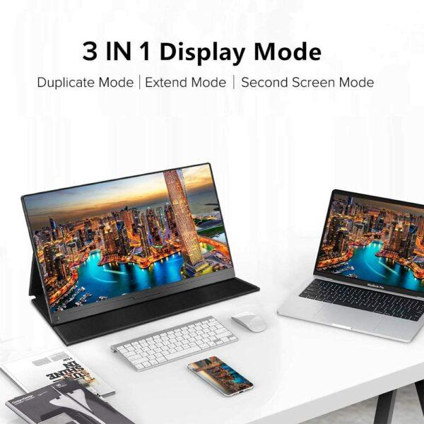 Mobiler Bildschirm 17,3 Zoll