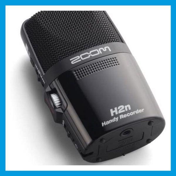 ZOOM H2N Podcast Mikrofon