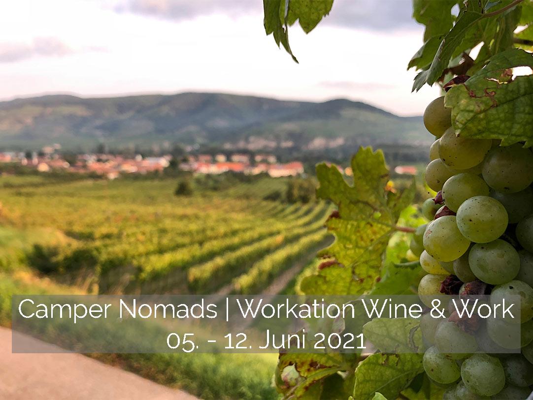Workation | Wine & Work – 05.-12. Juni 2021