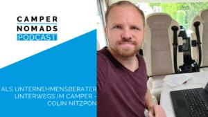 Als Unternehmensberater unterwegs im Camper - Colin Nitzpon