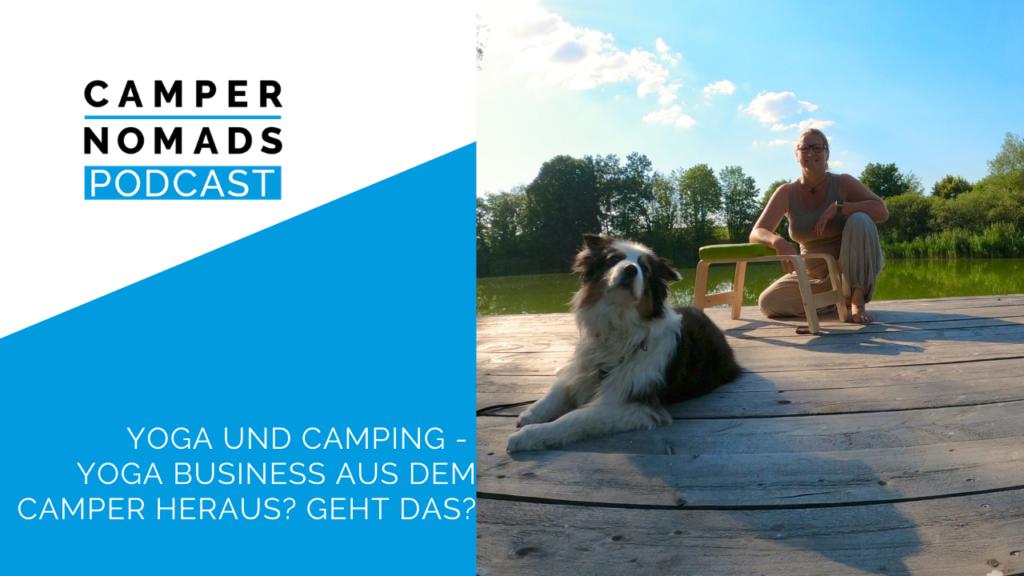 Yoga und Camping