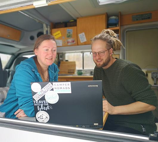 Anja und Marcus campernomads.net