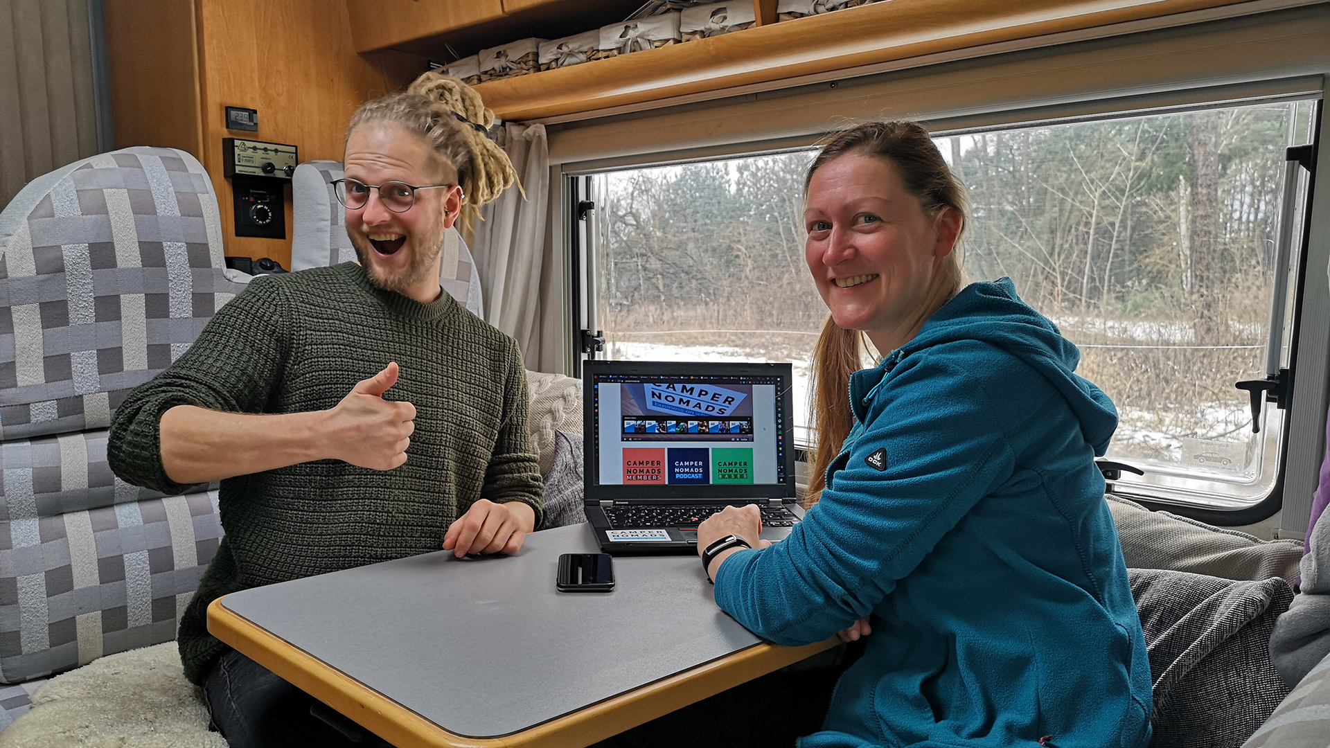Anja und Marcus | Camper Nomads Mitgliederbereich