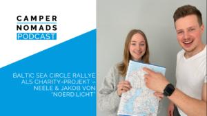 "Baltic Sea Circle Rallye als Charity-Projekt – Neele & Jakob von ""noerd.licht"""