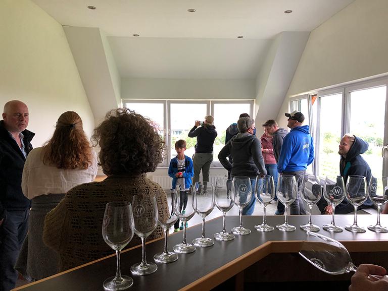 Workation 2021 - Weinverkostung